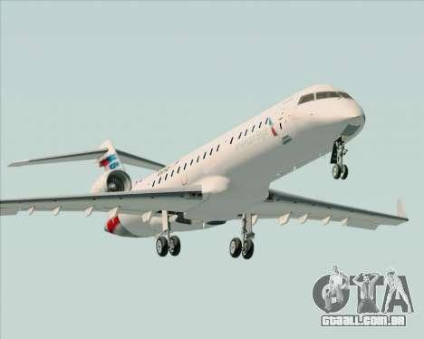 Bombardier CRJ700 American Eagle Airlines para o motor de GTA San Andreas