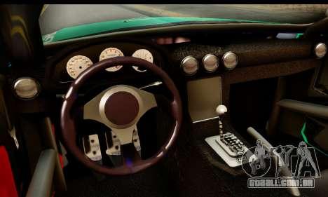 Ford Mustang Falken para GTA San Andreas traseira esquerda vista