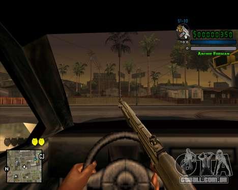 C-HUD Excellent para GTA San Andreas por diante tela