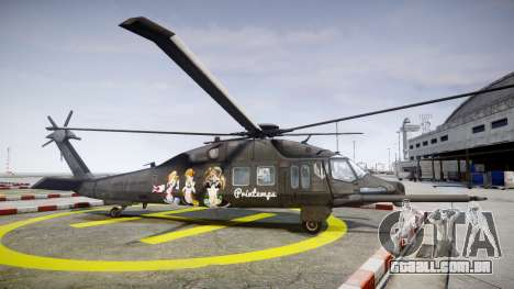 Sikorsky MH-X Silent Hawk [EPM] Printemps para GTA 4 esquerda vista