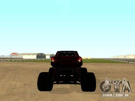 SuperMotoXL Zen MaXXimus CD 17.1 XL-HT para GTA San Andreas vista direita