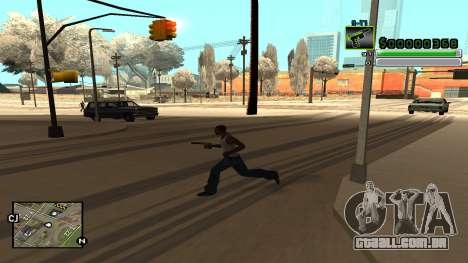 C-HUD v5.0 para GTA San Andreas sexta tela