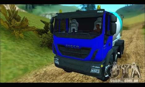 Iveco Trakker 2014 Concrete para GTA San Andreas