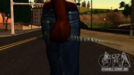 Natal Faca para GTA San Andreas terceira tela