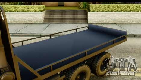 KamAZ 65115 Reboque DPS para GTA San Andreas vista traseira