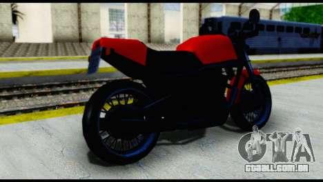 Streetfighter from Vice City Stories para GTA San Andreas esquerda vista