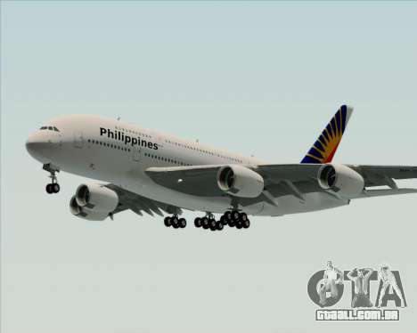 Airbus A380-800 Philippine Airlines para GTA San Andreas