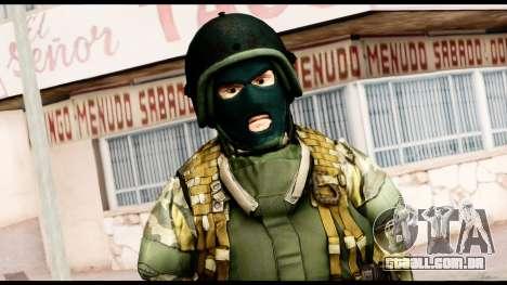 Support Troop from Battlefield 4 v1 para GTA San Andreas terceira tela