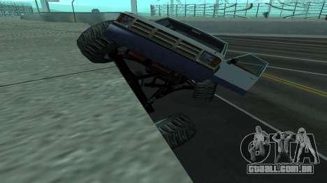A nova física dos carros v2 para GTA San Andreas terceira tela
