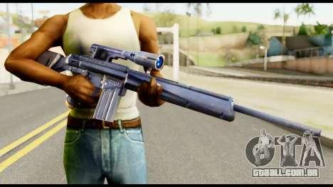 PSG1 from Metal Gear Solid para GTA San Andreas terceira tela