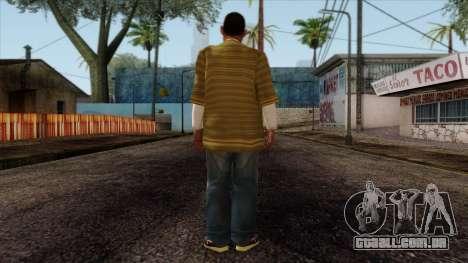GTA 4 Skin 73 para GTA San Andreas segunda tela