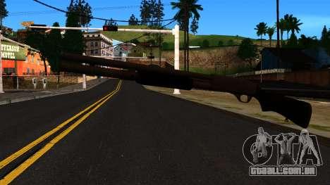 Preto MP-133 com Glitter para GTA San Andreas