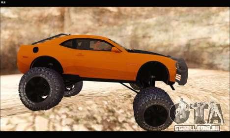 Chevrolet Camaro SUV Concept para GTA San Andreas traseira esquerda vista