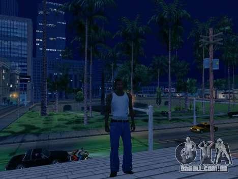 Gráfico Mod Eazy v1.2 para PC fraco para GTA San Andreas terceira tela