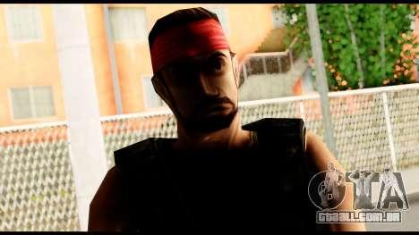 Counter Strike Skin 1 para GTA San Andreas terceira tela