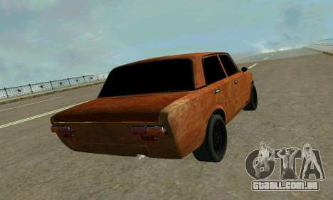 VAZ 2101 Ratlook v2 para GTA San Andreas vista interior