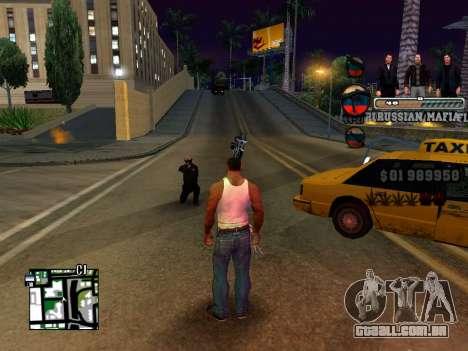 C-HUD Russian Mafia para GTA San Andreas segunda tela
