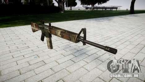 O M16A2 rifle erdl para GTA 4