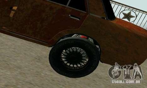 VAZ 2101 Ratlook v2 para GTA San Andreas vista direita