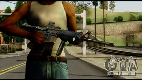SOPMOD from Metal Gear Solid v2 para GTA San Andreas terceira tela