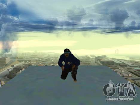 SFR1 New Skin para GTA San Andreas terceira tela