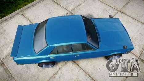 Nissan Skyline 2000GT para GTA 4 vista direita