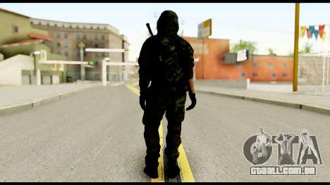 Sniper from Battlefield 4 para GTA San Andreas segunda tela