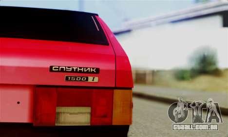 VAZ 2108 Hobo para GTA San Andreas vista direita