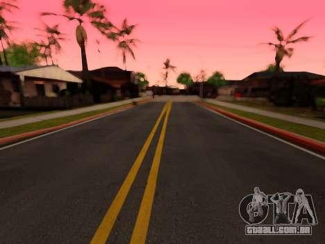 Melhoria da textura de estradas para GTA San Andreas