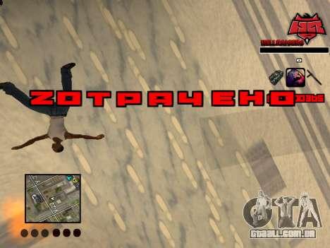 C-HUD Raisers para GTA San Andreas