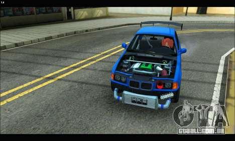 BMW e36 Drift Edition Final Version para GTA San Andreas vista direita