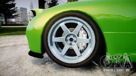 Mazda MX-7 para GTA 4 vista de volta