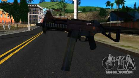 UMP45 from Battlefield 4 v2 para GTA San Andreas