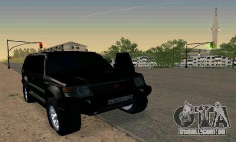 Mitsubishi Pajero Intercooler Turbo 2800 para GTA San Andreas
