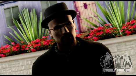 Heisenberg from Breaking Bad v2 para GTA San Andreas terceira tela
