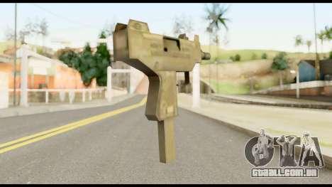 New Micro SMG para GTA San Andreas segunda tela