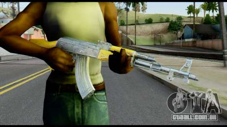 AK47 from Max Payne para GTA San Andreas terceira tela