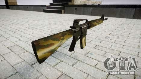 O M16A2 rifle flora para GTA 4 segundo screenshot
