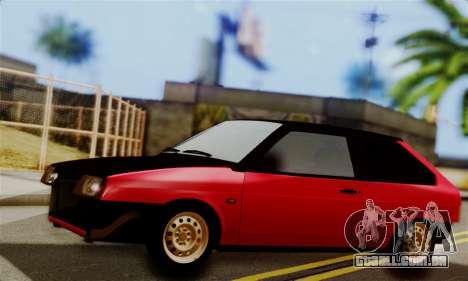 VAZ 2108 Hobo para GTA San Andreas esquerda vista