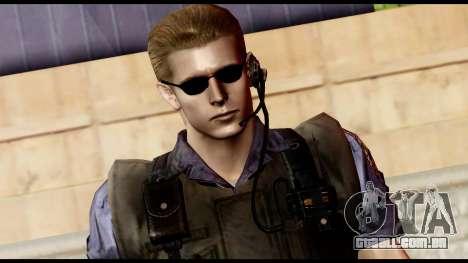 Resident Evil Skin 11 para GTA San Andreas terceira tela