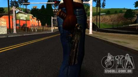 Pistol from Shadow Warrior para GTA San Andreas terceira tela