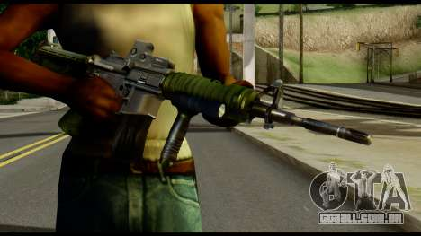 SOPMOD from Metal Gear Solid para GTA San Andreas terceira tela