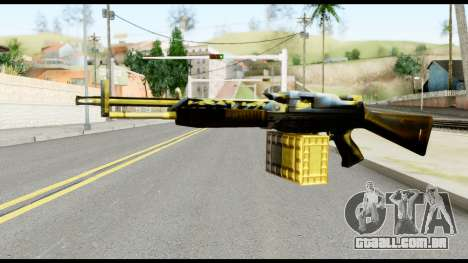 M63 from Metal Gear Solid para GTA San Andreas