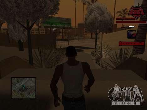 C-HUD Raisers para GTA San Andreas sexta tela