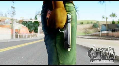 Colt 1911A1 from Metal Gear Solid para GTA San Andreas terceira tela