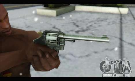 Colt Offical Police para GTA San Andreas por diante tela