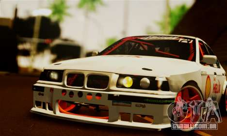 BMW M3 E36 Darnitsa Bandits para GTA San Andreas vista direita