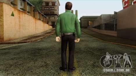 Police Skin 8 para GTA San Andreas segunda tela