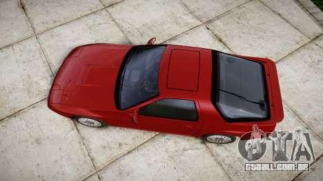 Mazda RX-7 1990 FC3s [EPM] para GTA 4 vista direita