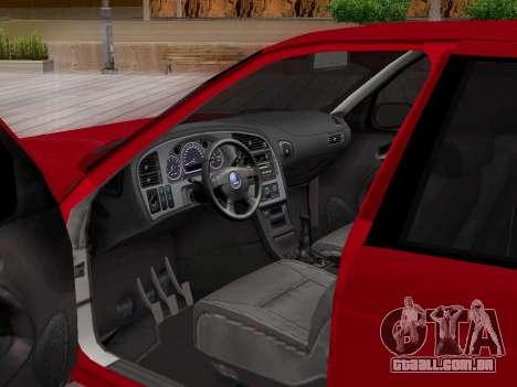 Saab 95 para as rodas de GTA San Andreas